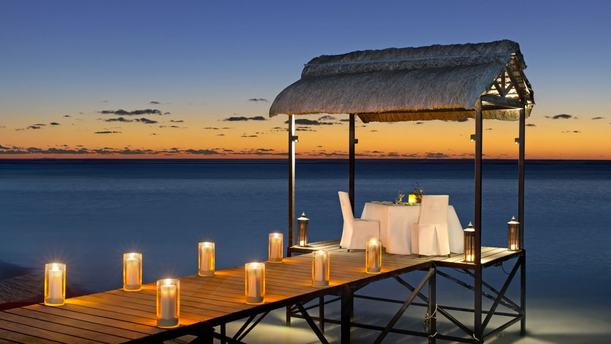 St. Regis Mauritius Resort Experiences: Private Dining on the Jetty